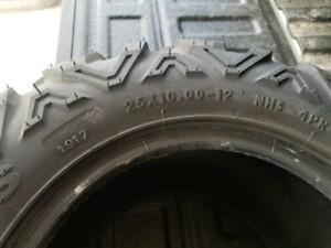 ATV 25X10X12 Bighorn 2.0 tires. Set of 4