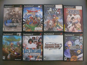 jeux rpg ps1,ps2,wii,gamecube