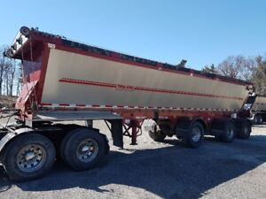 2011 Trail King Red River 3 Axle Live Bottom Trailer