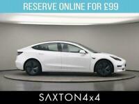 2020 Tesla Model 3 Dual Motor Long Range Saloon 4dr Electric Auto 4WDE (346 bhp)