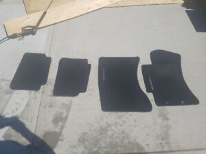 2011 Subaru Forester front and rear mats