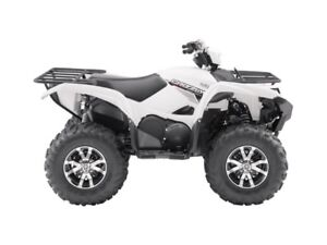 2017 Yamaha Grizzly EPS Alpine White