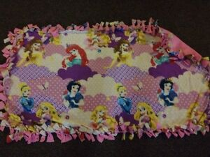 Princess handmade fleece blanket