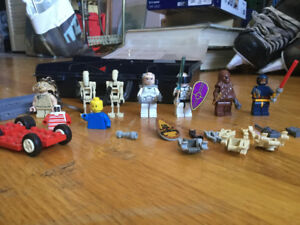 Assorted Lego, with Starwars Minifigures