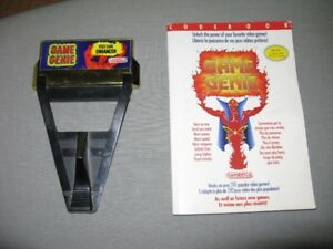 Game Genie-Video Game Enhancer(Nintendo) NES with code book