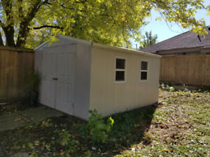Large Outdoor Vinyl Shed