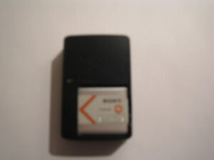 Sony charger/Lith ion battery for DSC-W610 camera (Salmon Arm)