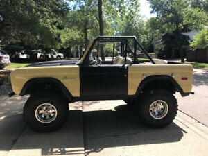1970 Ford Bronco Frame Off Restoration
