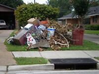 Junk removal, small & large moves CALGARY & AREA (24/7)
