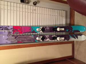 Womens Misdirected 159cm Powder Skis