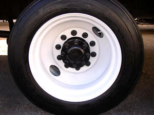 I am looking for a steel rim for a semi truck 22.5
