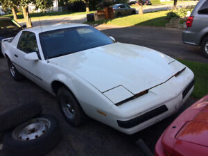 1985 firebird 2.8l v6 project to be finish $1500