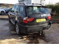 BMW X3 2.0D SPORT (2005 05 REG) DIESEL + MANUAL + 4X4
