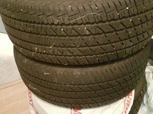 P215/60R16 Firestone FR710 Almost new