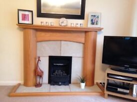Wooden Fireplace Surround Mantlepiece