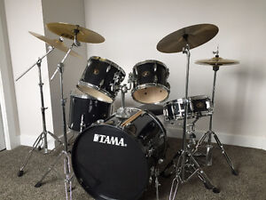 Tama Imperialstar 5 Piece Drum Kit with Additional Drum Pieces