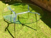 Glass table (round) from Cargo