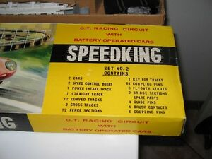 1960s Post Cereal Speedking Road Race Set