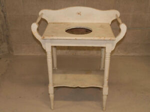 Antique WASH STAND - White - New Lower Price!