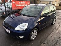 FORD FIESTA FLAME, 50000 MILES, MOT JULY, SERVICE HISTORY, NOT CORSA CLIO POLO PUNTO