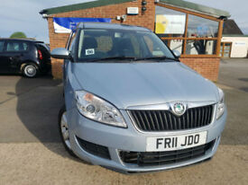 2011 Skoda Roomster 1.2 TSI ( 105bhp ) SE NEW SERVICE LOW MILAGE