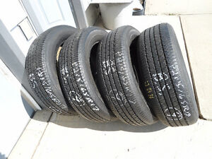 SOLD - SET of 4 - P215/65R17 B.S. INSIGNIA SE 200 A/S TIRES