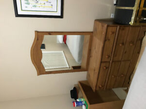 Selling Dresser with Mirror.