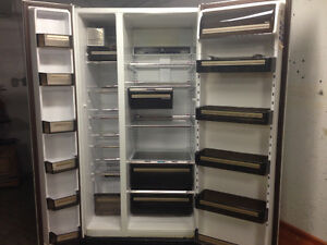 LARGE Maytag Refridgerator w. Double Door and Ice Maker