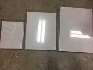 12 blank canvas - $40 for all