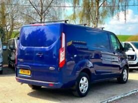 2016 (16) Ford Transit Custom 2.2 TDCi 125ps Low Roof Limited Van (NO VAT)