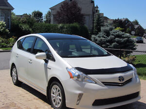 2012 Toyota Prius V toit luxe cuir 4 sièges chauffants GPS