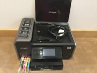 Lexmark Prestige Pro 805 All In One Printer & Scanner with New Ink Cartridges