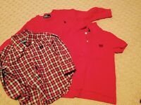 Polo sweater / chaps dressshirt & chaps shirt all for 10