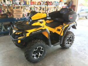 2015 Outlander 650 XT Low use with Extras and Plow!
