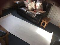 White oak effect vinyl flooring