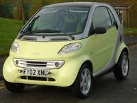 SMART CAR SMART 0.6 SEMI-AUTOMATIC 2002 PULSE,ONLY 61 K,LONG MOT,EXCELLENT DRIVE