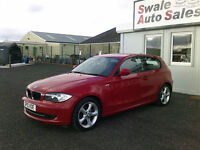 2010 BMW 116I SPORT 2L ONLY 53,112 MILES, FULL SERVICE HISTORY