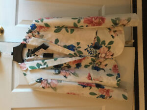 Brand New with Tag RW & CO floral jacket $149 sale for $35
