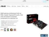 Motherboard,ram and cpu