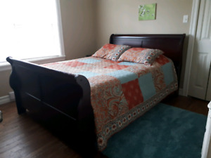 Quilt and two shams - perfect condition