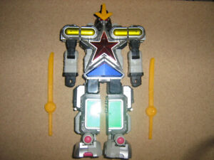 POWER RANGERS SUPER ZEO MEGAZORD