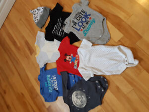 0-6 month boy clothing.  Never worn