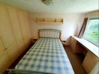 Static caravan for sale west coast Scotland free standing furniture Ayrshire