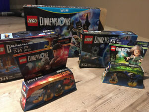 Wii LEGO dimensions starter pack + story+1 fun+1 team packs