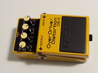 Pédale Boss OS-2 (Overdrive-Distortion)