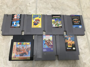 NES Games, Controllers, Zapper
