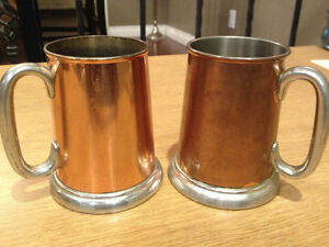 Copper Tankards