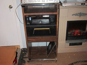 vintage stereo stand