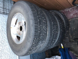 Tires and rims 265/70R16