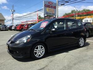 2008 Honda Fit Sport 4dr Hatchback 5M